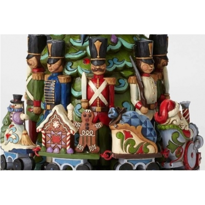 Choinka pozytywka Toy Soldier Express Christmas train musical masterpiece 4044514 Jim Shore