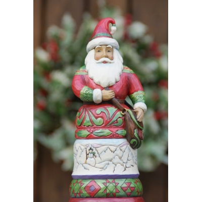 Mikołaj Królewski  Heartwood Creek Regal Santa with Bag 4042964 Jim Shore