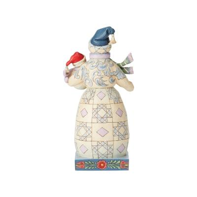 Dwa bałwanki  Bundled in Love (Snowman with Snowbaby Figurine) 6004140 Jim Shore